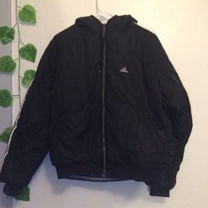 Men's Adidas Reversible Puffer Coat